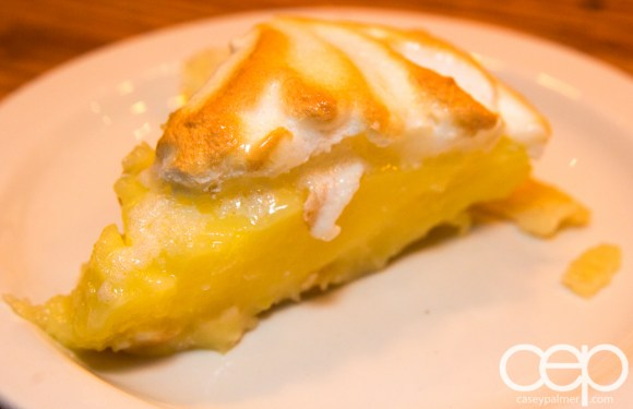 Team Trolling Does Pizzeria Libretto — A Slice of Marie's Lemon Meringue Pie