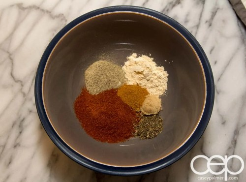 #SamInHand — Beer-Brined Pork Chops — Spice Rub Mix