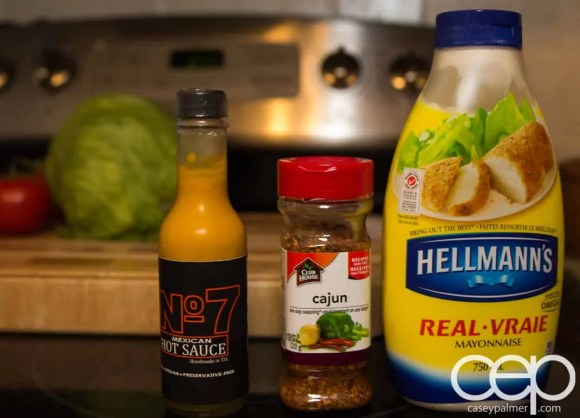 #DIYSandwich—Quick and Easy Summer Burger—Chipotle Mayo—Ingredients
