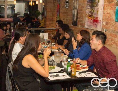 G... for Gelato and Espresso Bar — Pizza Party — A Table of Bloggers
