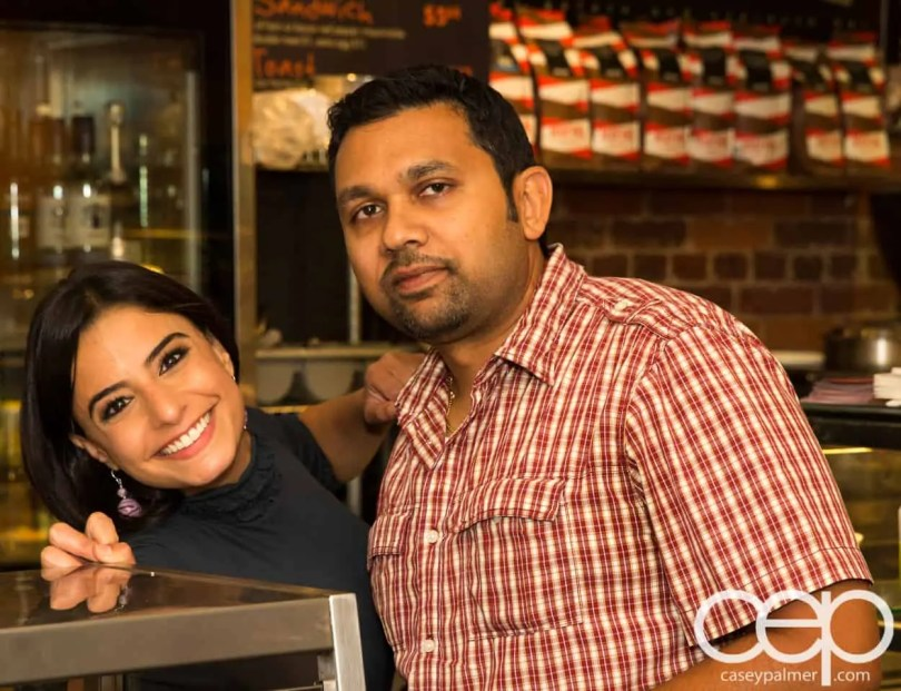 G... for Gelato and Espresso Bar — Pizza Party — Davindra and Arda
