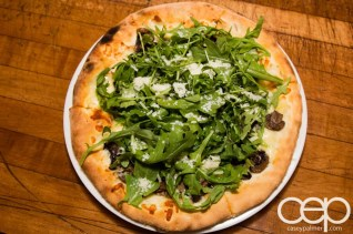 G... for Gelato and Espresso Bar — Pizza Party — Fungi Pizza