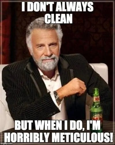 Swiffer Man Clean — Most Interesting Man in the World — Cleaning