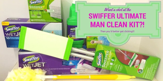Swiffer Ultimate Man Clean Kit (Banner)