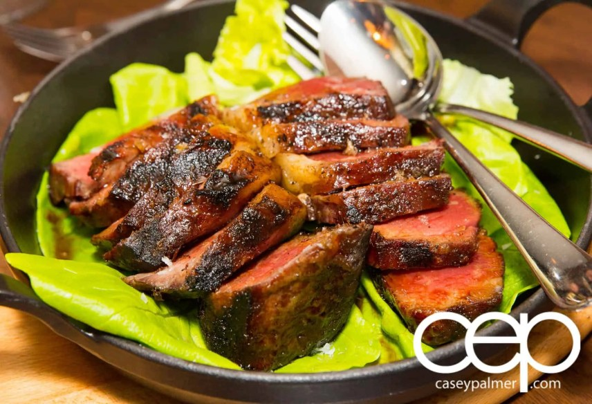 #CIASGM GM Canada President's Dinner — Montecito — ny strip steak
