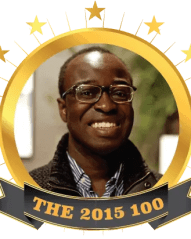 The 2015 100 Emblem—my official crest for The 2015 100