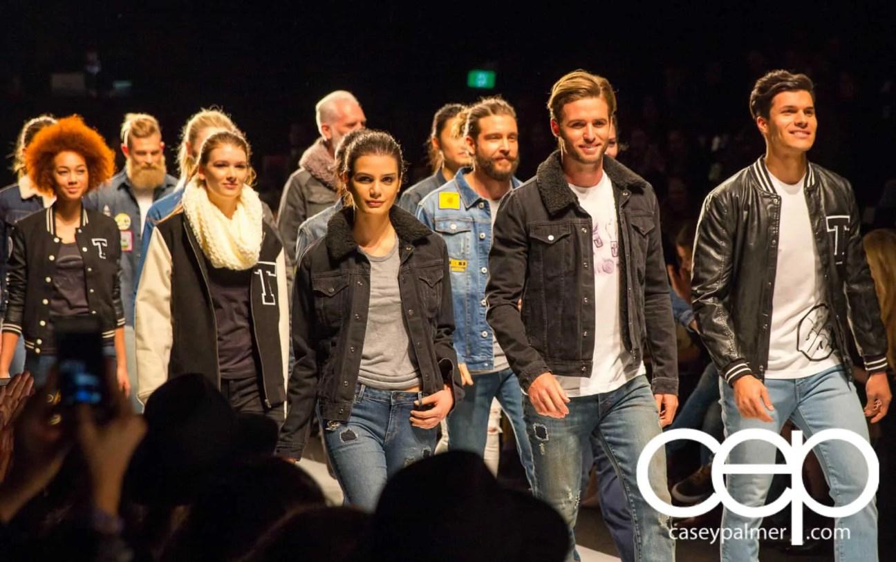 2015 World MasterCard Fashion Week — Toronto — Triarchy — Group Shot