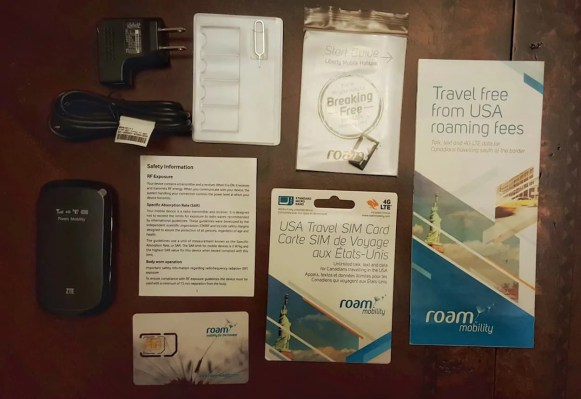 Casey Palmer x Swiffer Present — 36 Hours in NYC — Roam Mobility — Unboxed Roam Liberty and SIM Card