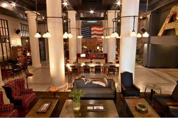 Casey Palmer x Swiffer Present—36 Hours in NYC—The ACE Hotel Lobby
