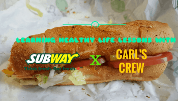 Learning Healthy Life Lessons with Subway Canada x Carl's Crew! — A BLT Sub on Parmesan Oregano
