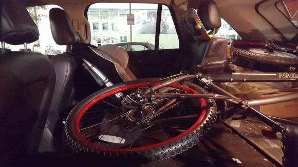 In It to Schwinn It—How the Biking Behemoth Got Me Back on Two Wheels!—Taking my Schwinn Onus Home in my 2011 Ford Edge