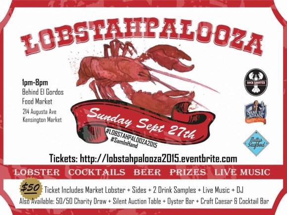 Stop Being So SHELLFISH! #LobstahPalooza2015—An Adventure in Atlantic Ambrosia!—Lobstahpalooza Ad