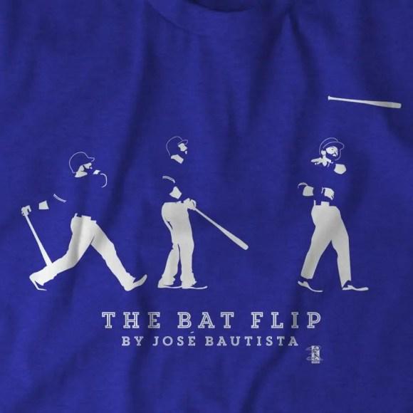 Toronto Blue Jays José Bautista Bat Flip