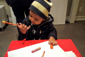 The Week That Was... November 8th - 14th, 2015 — Little Man at the 7th Annual Open Rhodes Art Show and Sale