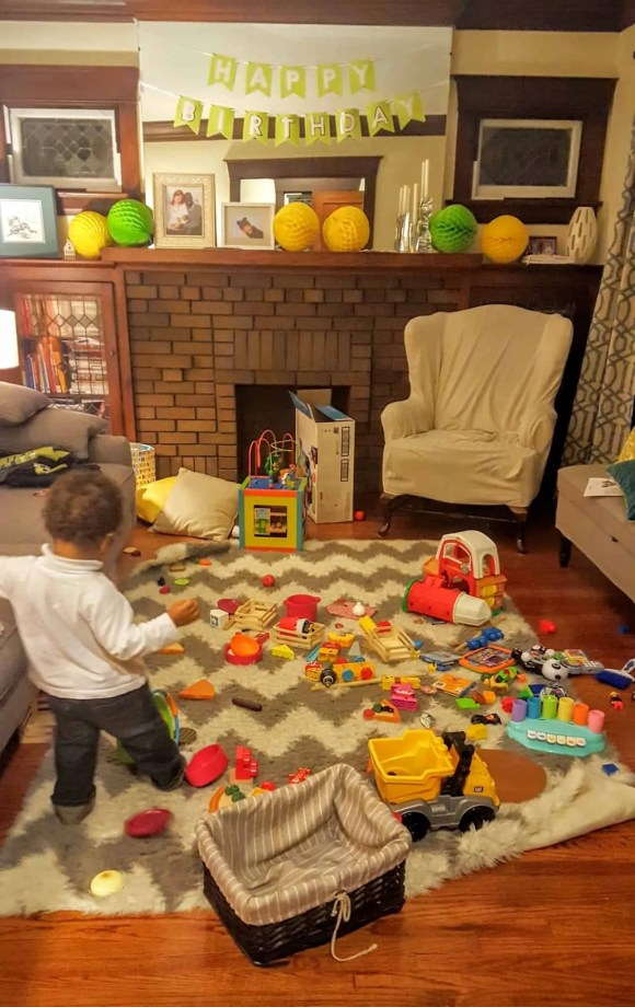 The Week That Was... November 8th—14th, 2015—The Messiest Living Room Ever