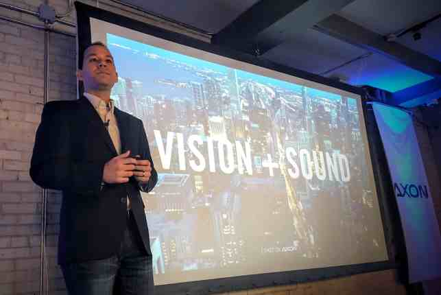 The Week That Was... October 25th - 31st, 2015 — Axon by ZTE Event — Jeff Yee, ZTE VP of Technology Planning and Partnerships Addressing the Crowd