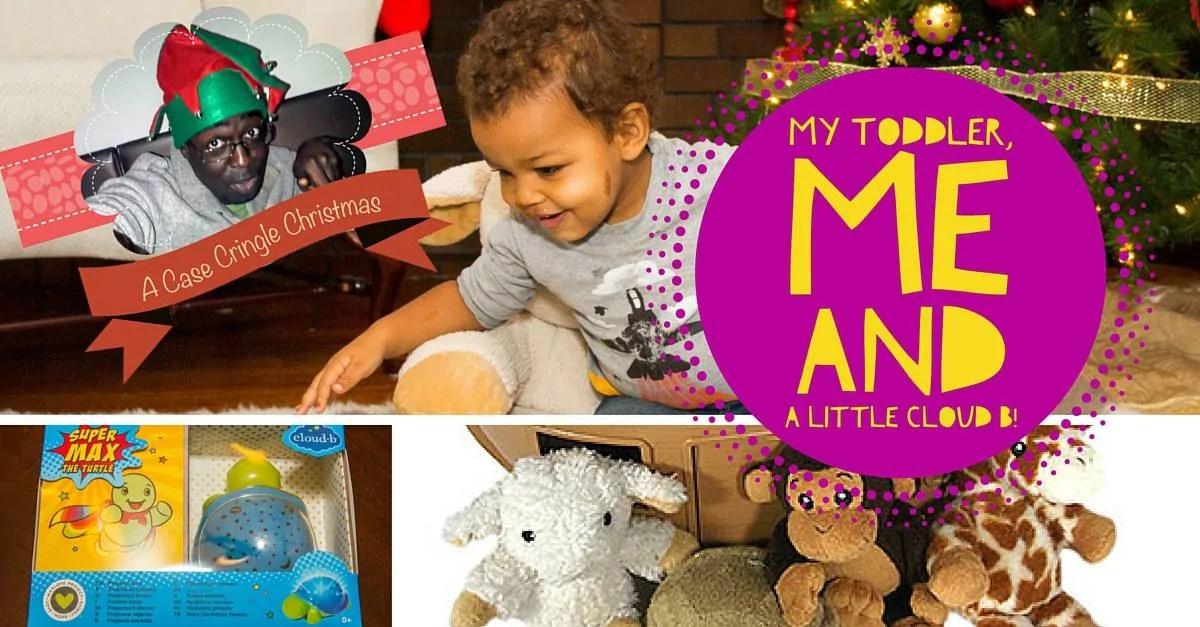 A Case Cringle Christmas, Day 2 — My Toddler, Me and a Little Cloud b! (Featured Image)