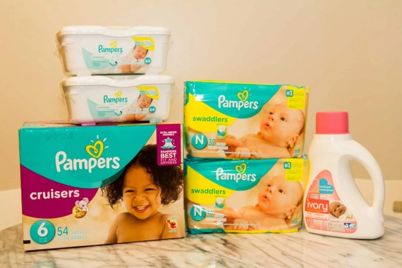 A Case Cringle Christmas, Day 3—Celebrating the Holidays with Pampers' #PeaceOnEarth!—Pampers Baby Panel Prize Kit