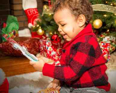 The Month That Was... November 22nd - December 26th, 2015 — Christmas at Casa de Palmer — Little Man's Happy with his Stocking Stuffers