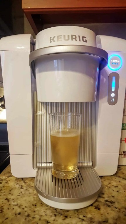 The Month That Was... November 22nd - December 26th, 2015 — Keurig Kold — Pouring Canada Dry Ginger Ale