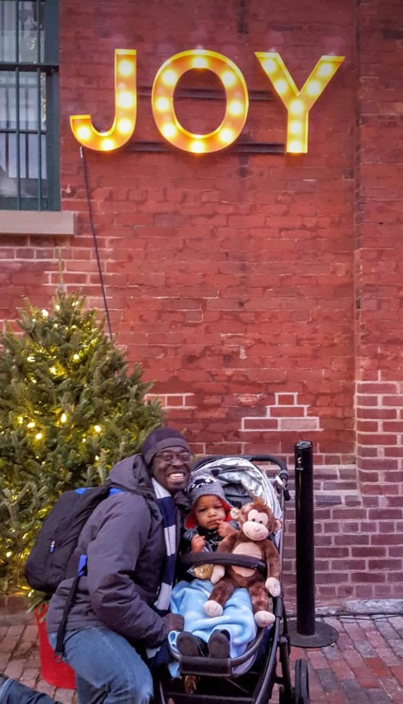 The Month That Was... November 22nd - December 26th, 2015 — Toronto Christmas Market — Casey at Little Man Expressing Joy