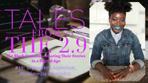 Tales from the 2.9 — Septembre Anderson (Featured Image)
