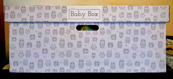 What's in a Box?—How the Baby Box Company Starts Parenthood Off RIGHT.—Baby Box Head-On View