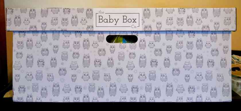 What's in a Box? — How the Baby Box Company Starts Parenthood Off RIGHT. — Baby Box Head-On View