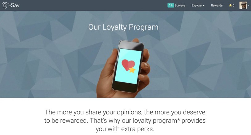A Penny for Your Thoughts — Get Rewarded for Your Opinions with Ipsos i-Say! — Our Loyalty Program