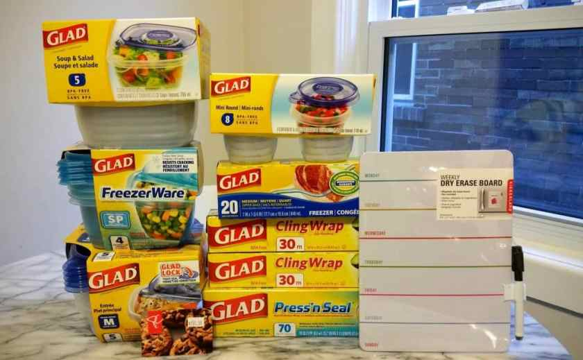 Gettin' it in with GLAD — The Refrigerator Makeover You Didn't Know You Needed! — A Whole Load of GLAD Food Protection Products!