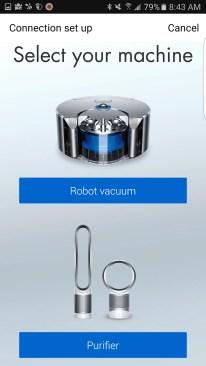 The Dyson Pure Cool Link — Dyson Link App — Select Your Dyson Machine