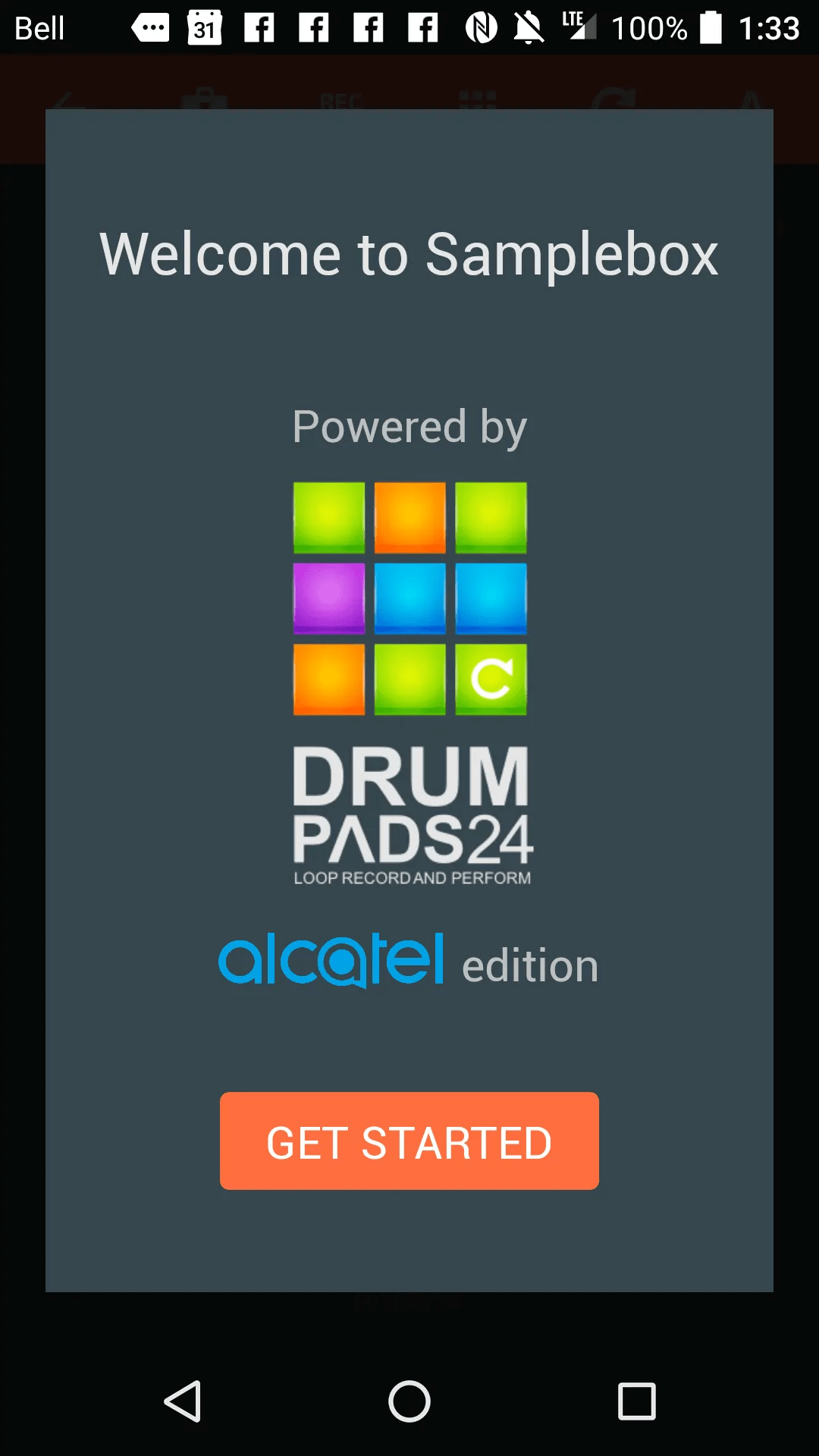 DADDY'S GOT A BRAND NEW TOY — The Alcatel Idol 4 — The Budget Smartphone You've Been Looking For! — Alcatel Drum Pads 24 Intro Screen