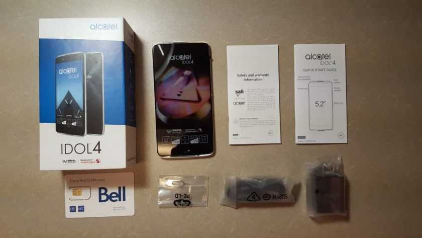 DADDY'S GOT A BRAND NEW TOY — The Alcatel onetouch Idol 4 — The Budget Smartphone You've Been Looking For! — What's in the Box