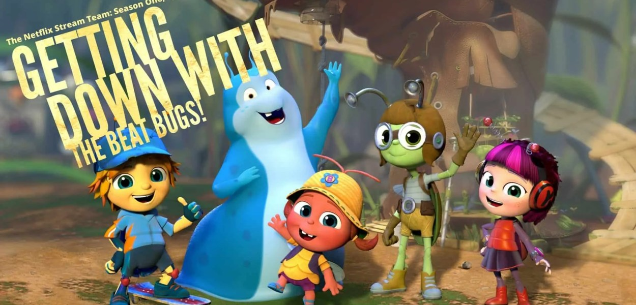 The Netflix Stream Team — Season One, Episode Seven- Getting Down with the Beat Bugs! (Featured Image)
