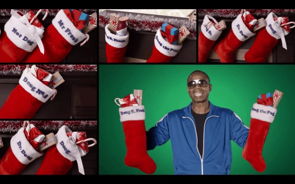 Febreze's 12 Stinks of Christmas — Keep Fresh for the Holidays! — Doug E. Fresh with Twelve Musty Stockings