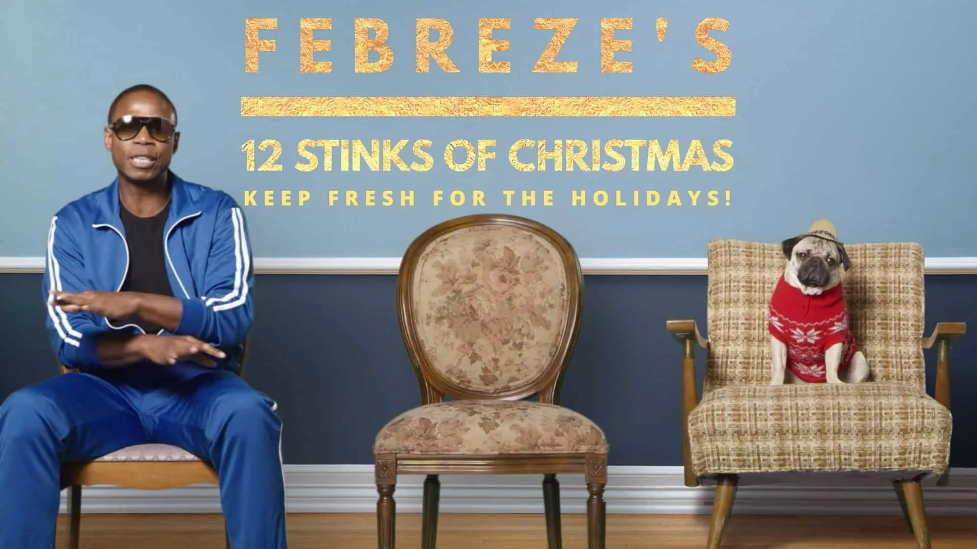 Febreze's 12 Stinks of Christmas — Keep Fresh for the Holidays! (Featured Image)