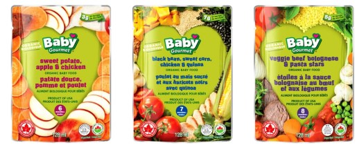 Feed Your Kids the RIGHT Way With Baby Gourmet!!! — Sweet Potato, Apple and Chicken + Black Bean, Sweet Corn, Chicken and Quinoa + Veggie Beef Bolognese with Pasta Stars