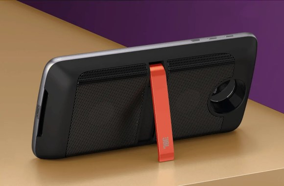 TELUS x The Lenovo Moto Z — Moto Mods — JBL Soundboost Speaker in Action