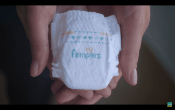 Touches of Love—a Pampers Parable for World Prematurity Day—The Super-Small Pampers Preemie Swaddlers