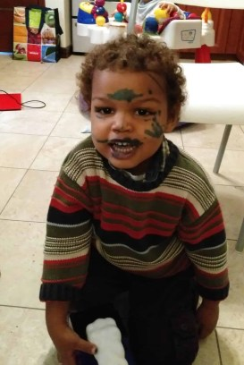 #stopCOMPAREnting — How Parents Keep it Real with Quaker Canada — Little Palmer and his War Paint