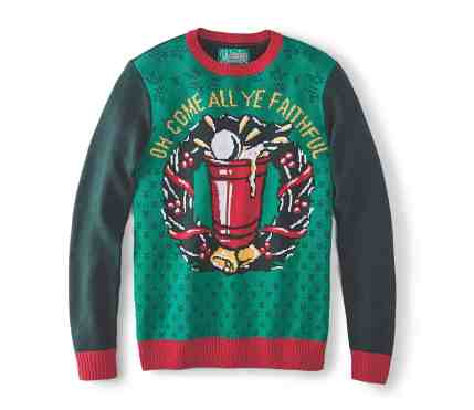 Make Your Mark on Fashion this Winter — The Mark's Christmas 2016 Gift Guide — Denver Hayes Faithful Ugly Christmas Sweater