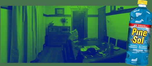 Purifying Casa de Palmer with the Power of Pine-Sol® — Casa De Palmer's Dining Room v2