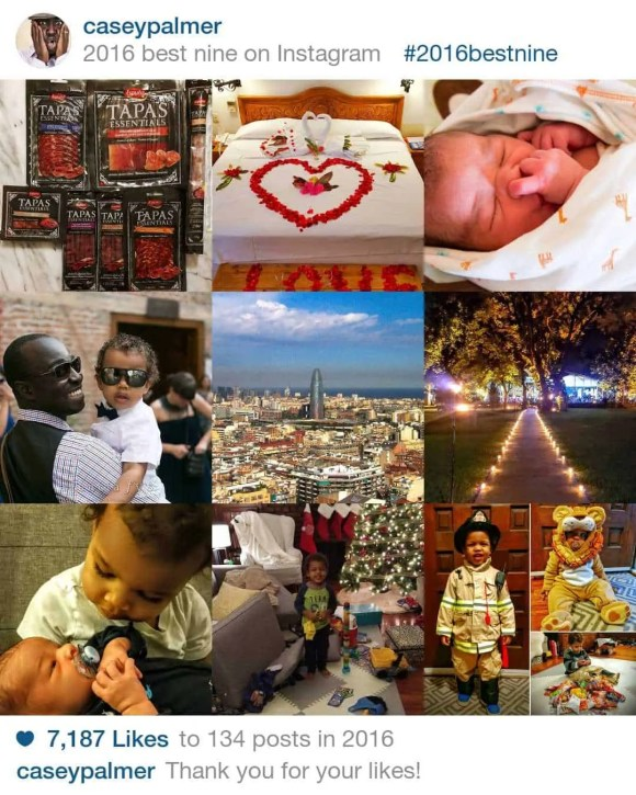 The 2016 100 Wrap-Up, Part 1—The 26 Things I MANAGED To Do.—CaseyPalmer Instagram Best Nine
