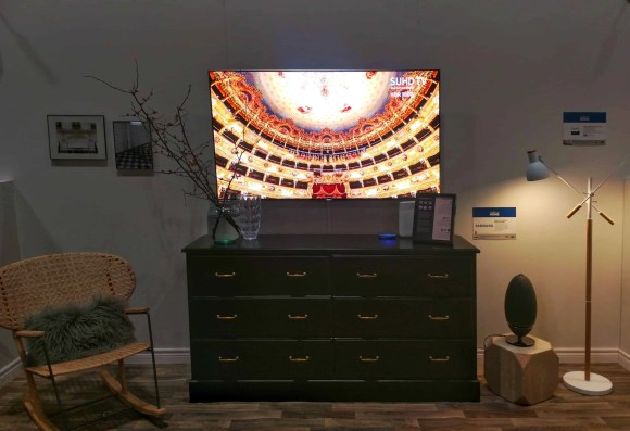 Checking out the Best Buy Smart Home at the National Home Show! — Entertainment Area