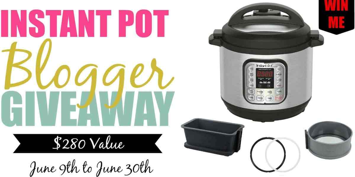 An Instant Pot Blogger Giveaway! — Instant Pot Blogger Giveaway Facebook