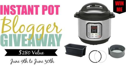 An Instant Pot Blogger Giveaway!—Instant Pot Blogger Giveaway Facebook