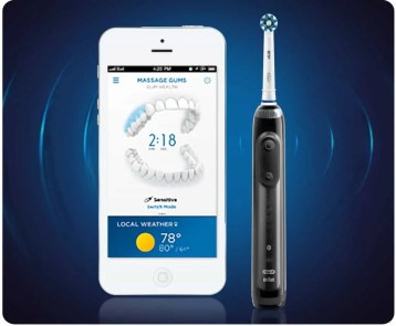Help Dad Shine Bright with the Oral-B Genius 8000 Electric Toothbrush! — Oral-B App