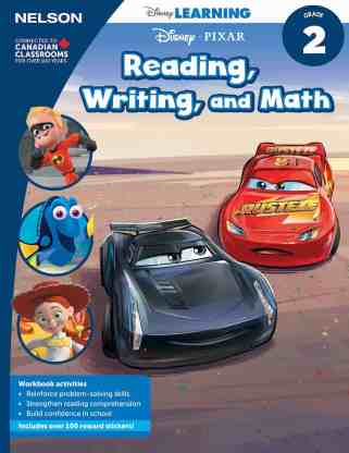 Keep Those Young Minds Yearning with NELSON Disney Learning! — Grade 2 Reading, Writing and Math