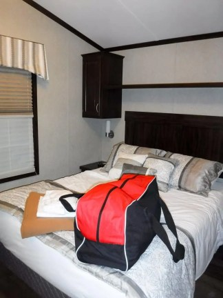 Make Vacay Matter More with Stays at Sherkston Shores! — The Premium Rental Cottage Master Bedroom