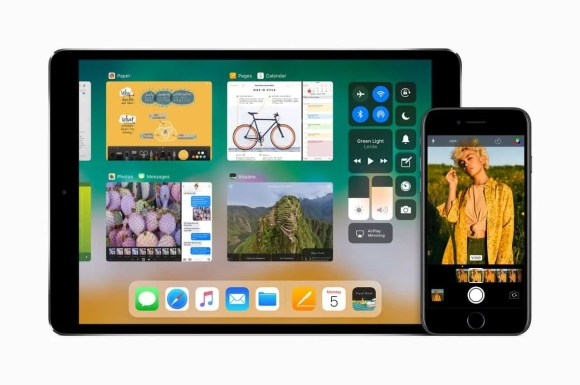 What's Up With Apple? A Look at What Goes on BEHIND the Screens!—iPad Pro—iOS 11—Control Centre